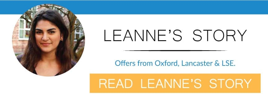 leannes story with PPE interview tuition