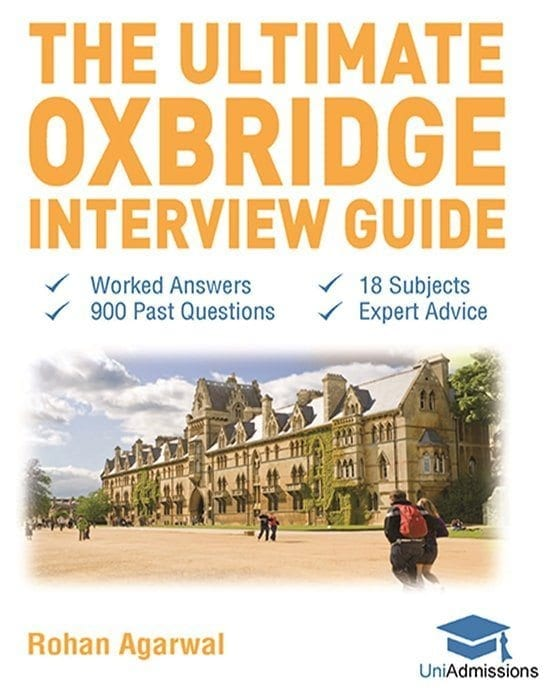 oxbridge interview book - perfect for students with upcoming oxford and cambridge interviews