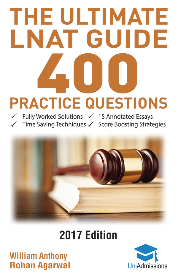 LNAT Book Ultimate Guide - 400 practice questions