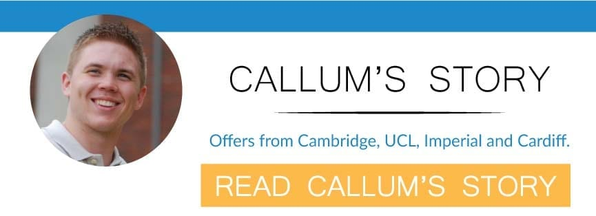 read callums story with UniAdmissions