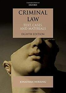 Criminal Law - Jonathan Herring