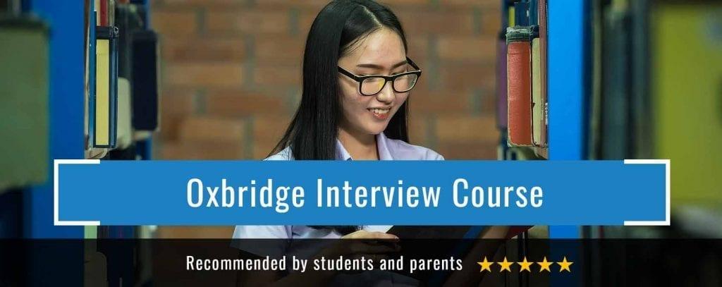 Oxbridge interview course