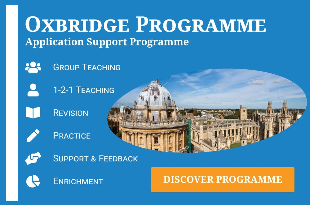 UniAdmissions Oxbridge Programme
