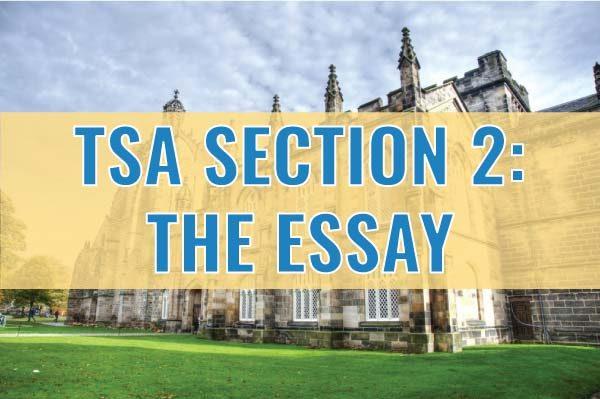 tsa section 2 the essay