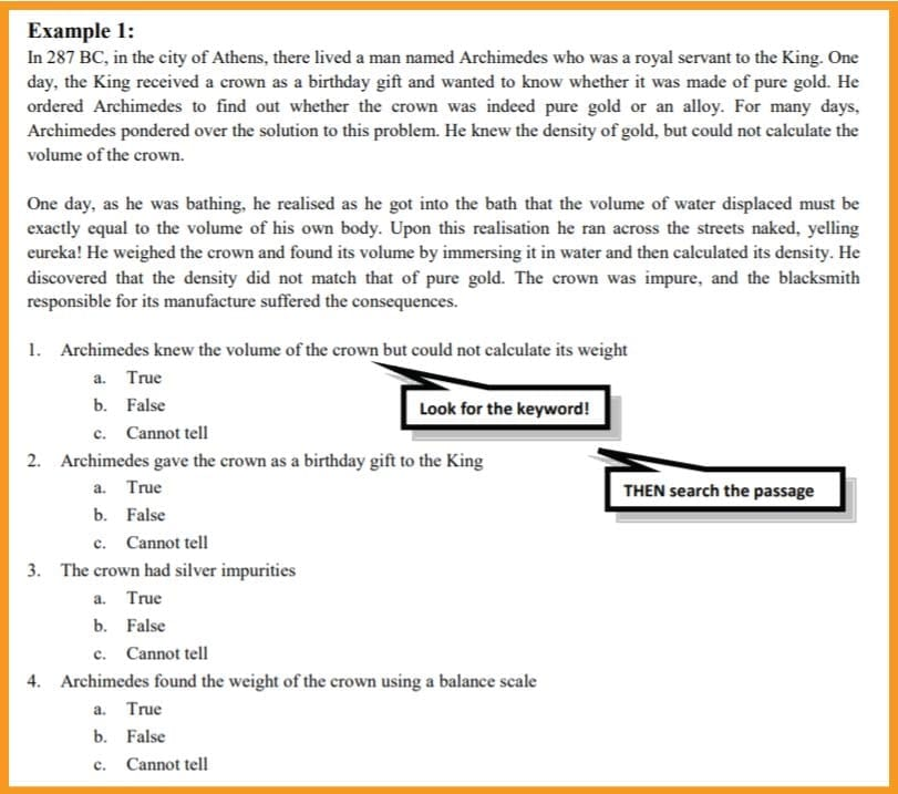 verbal reasoning typical question