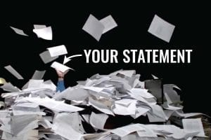 outstandning personal statement