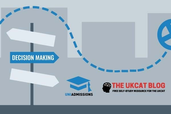 uniadmissions and ukcat blog dcisio making