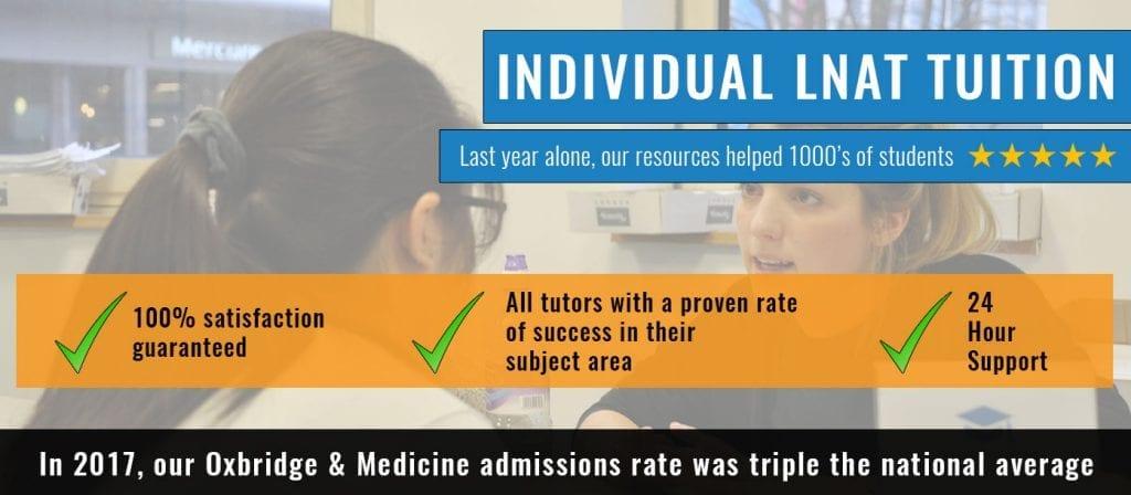 Individual LNAT Tuition
