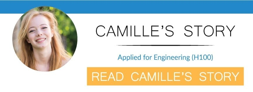 camilles application to oxford for engineering