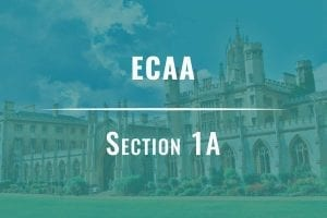 ecaa section 1