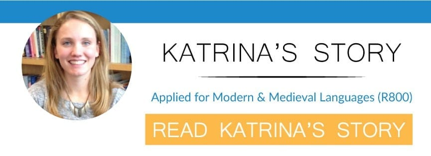 read katrina's story of uniadmissions modern languages tuition