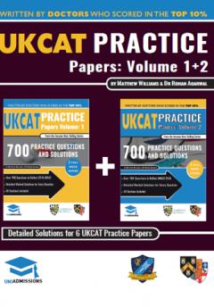UKCAT Practice Papers 1+2