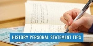 history-personal-statement