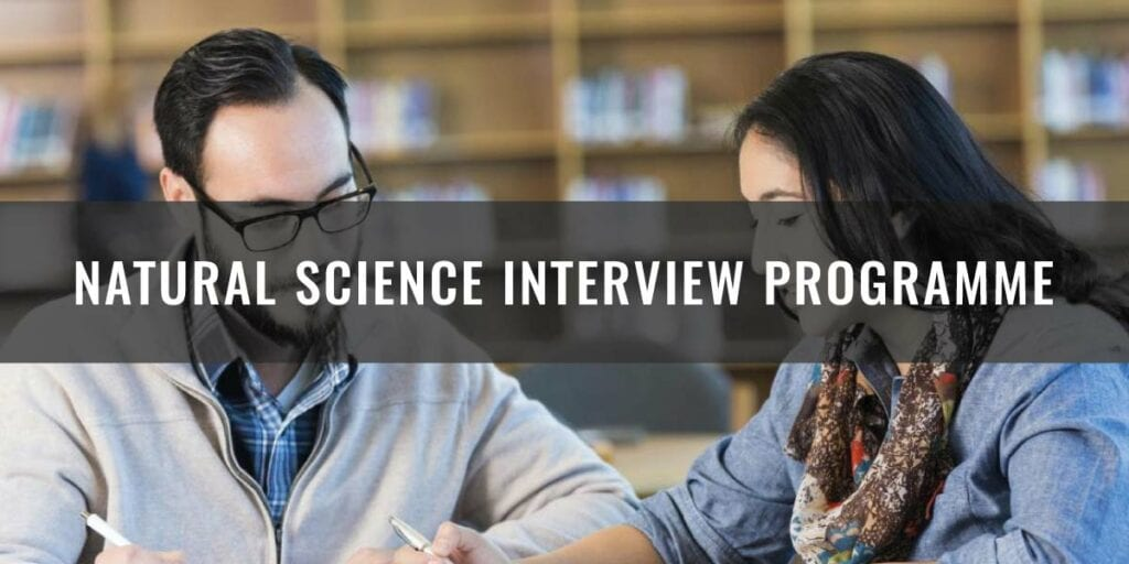 Natural Science Interview