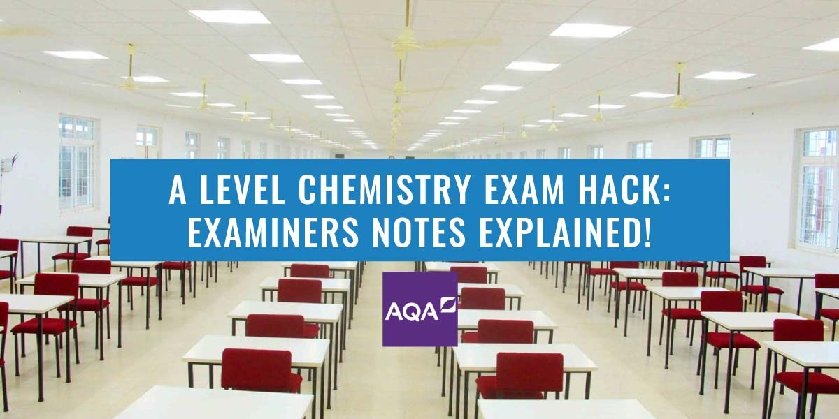 2017 A-Level Chemistry Paper Examiners Report Explained