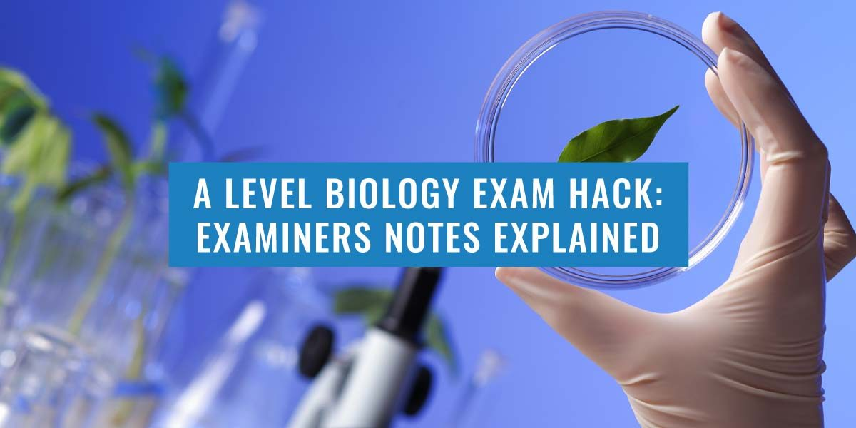 A-LEVEL BIOLOGY PAST PAPER EXAMINERS REPORT EXPLAINED