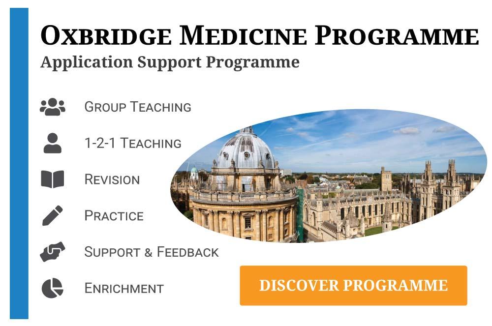 Oxbridge Medicine Programme