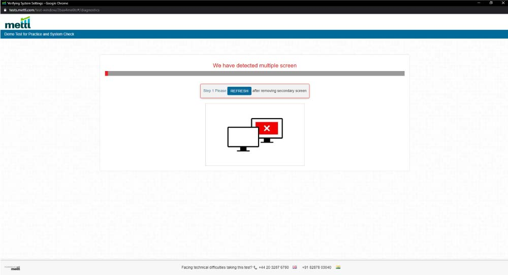 mettl-admissions-test-online-system