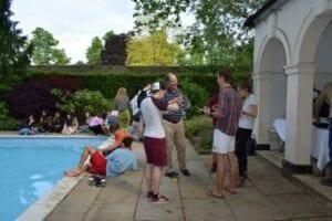 Christ's College Cambridge swimming pool